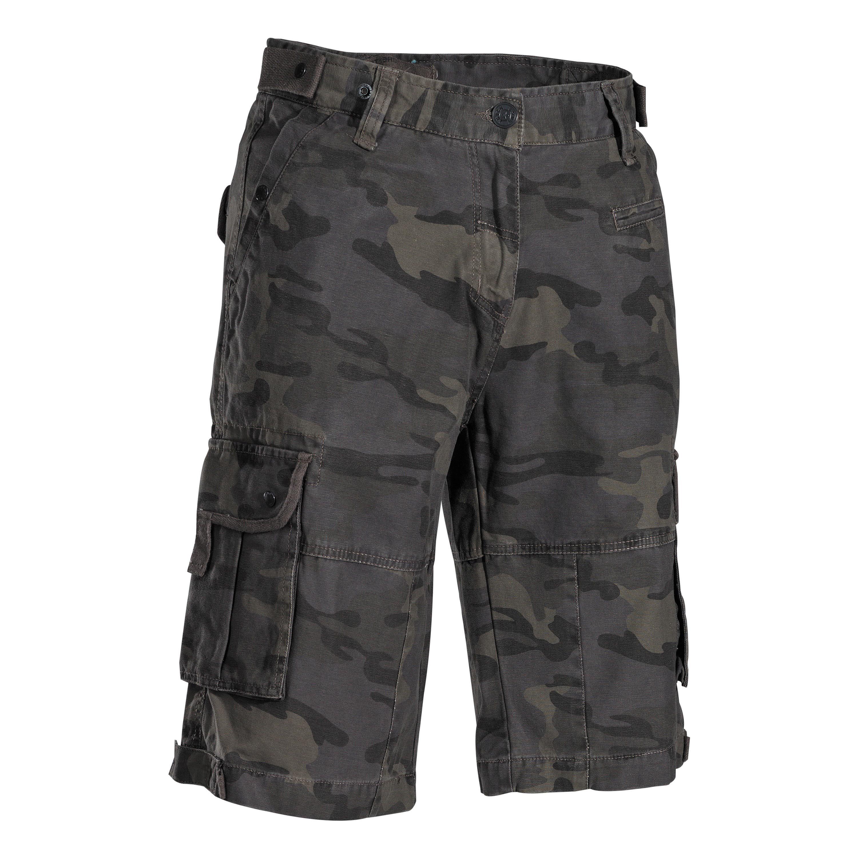Bermuda Combo Shorts combat camo-stonewashed