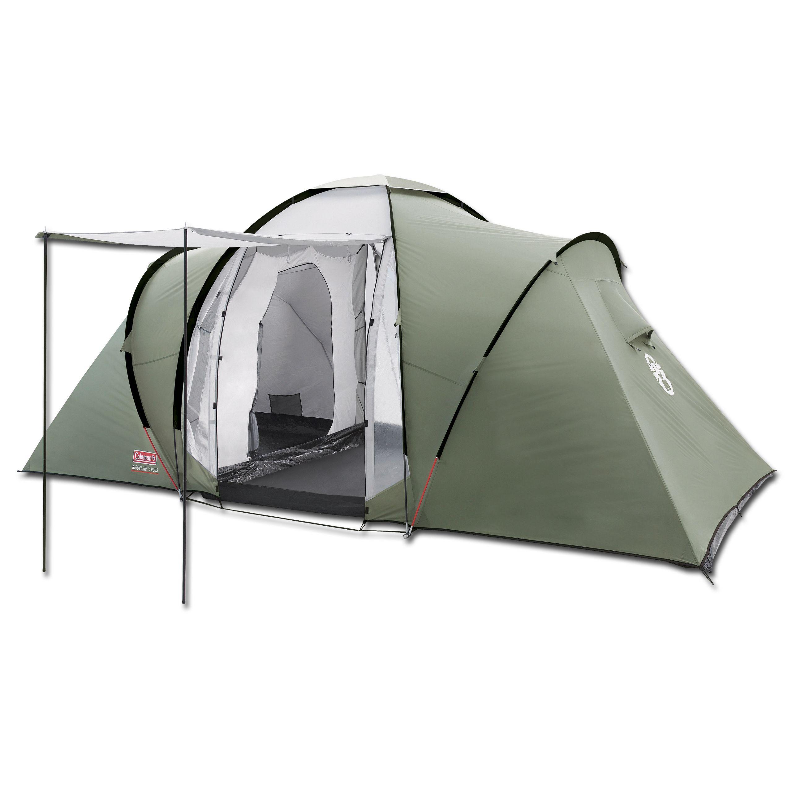 Tent Coleman Ridgeline 4 Plus olive green | Tent Coleman