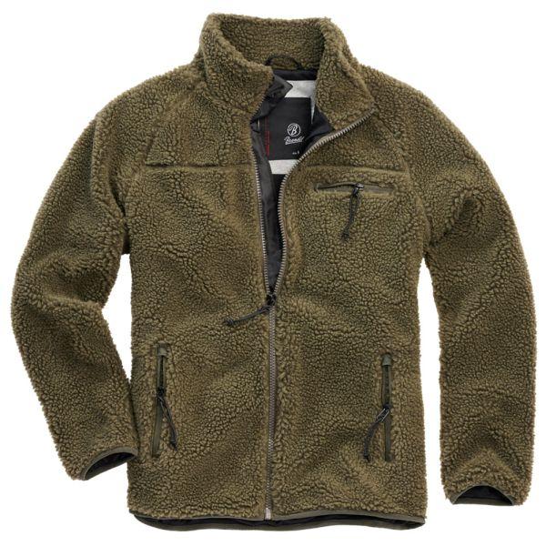 Brandit Jacket Teddy Fleece olive