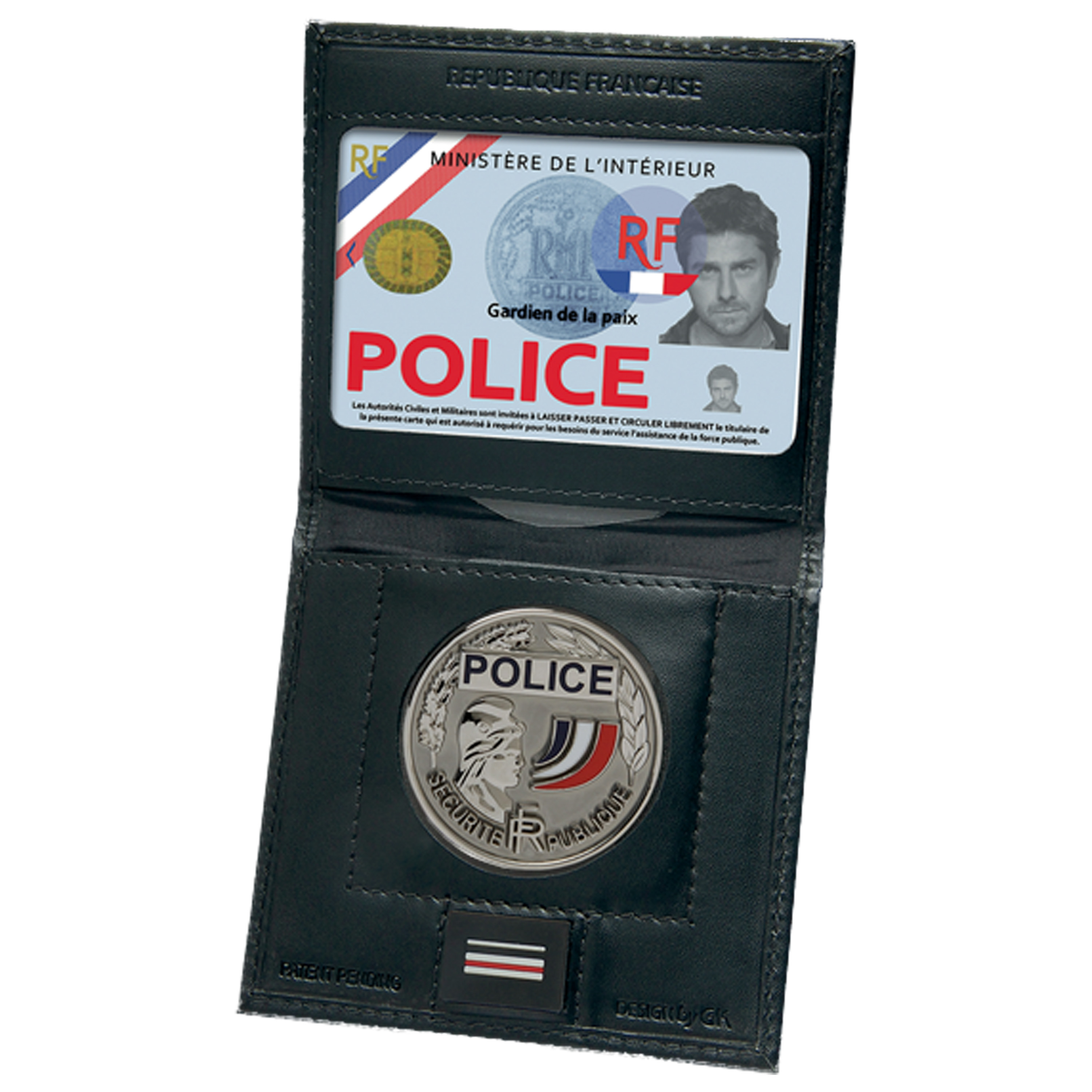 GK Pro Mini ID Holder Security Forces Vertical