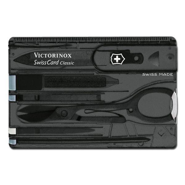 Victorinox Multitool Swiss Card onyx