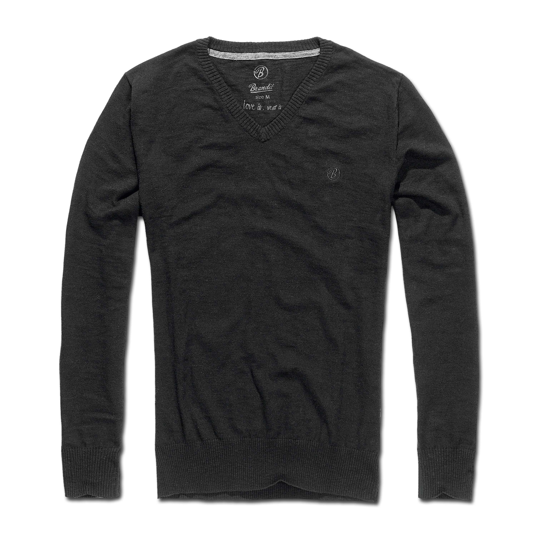 V-Pullover Brandit London black