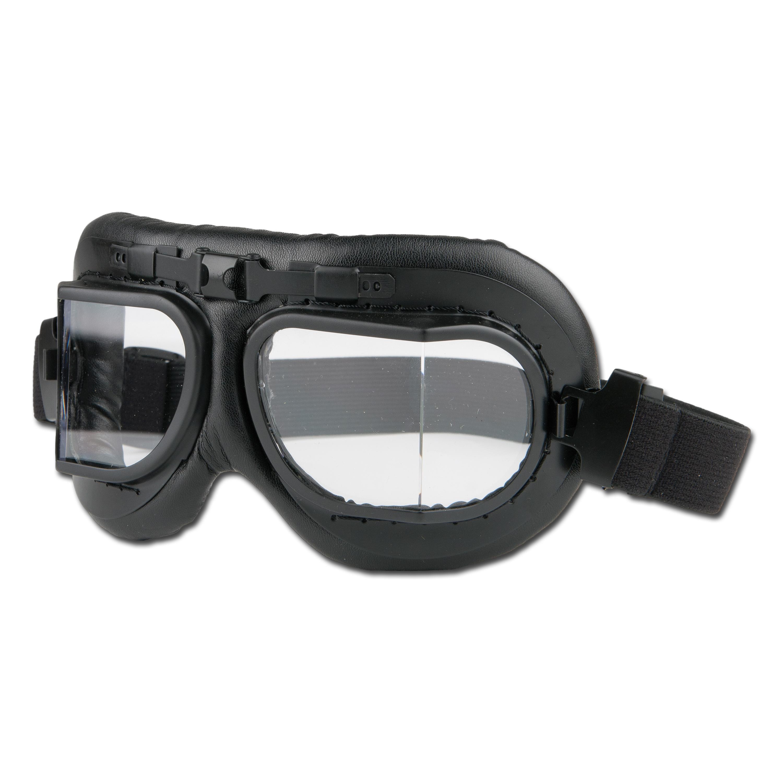 RAF Aviator Glasses, Black frame