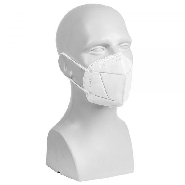 Schutzmaske 3D KN95 faltbar mit Nasenbügel