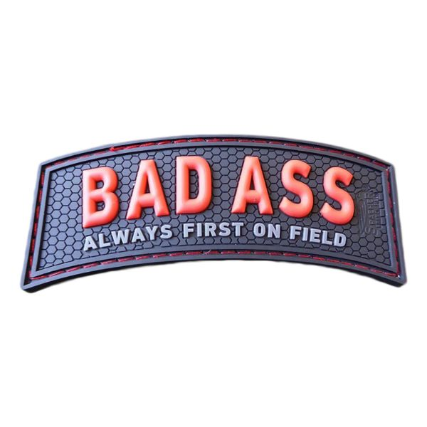 JTG 3D Patch BAD ASS, Always First On Field red blackops
