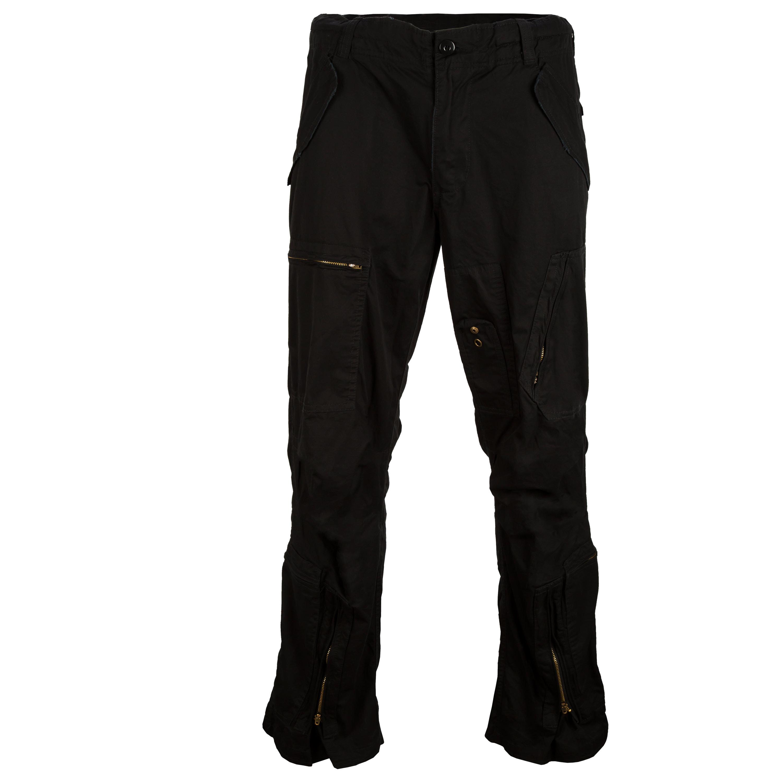 Aviator Pants Washed black