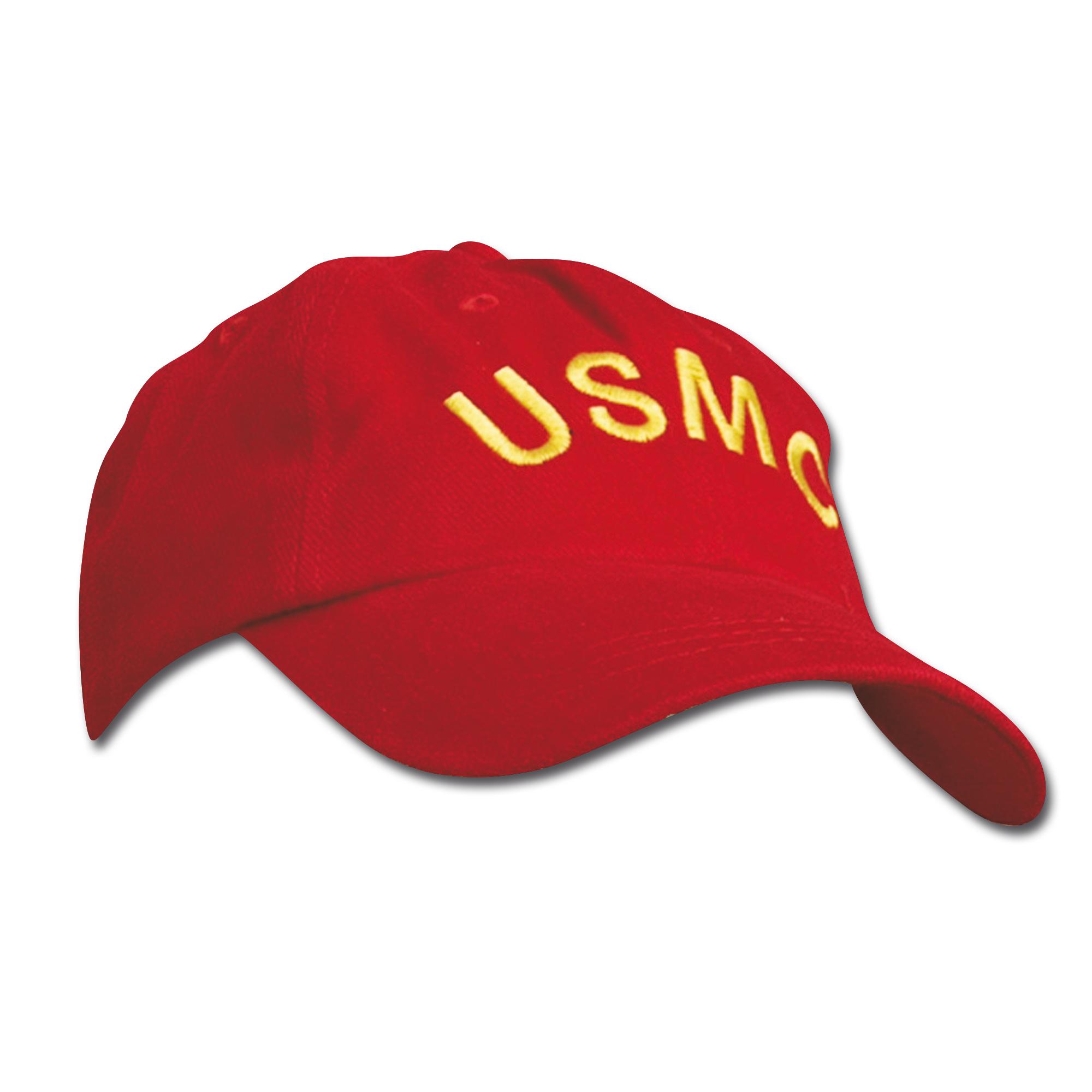 Baseball Cap USMC red