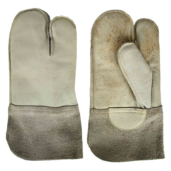 German BW Work Mittens with Cuff Like New
