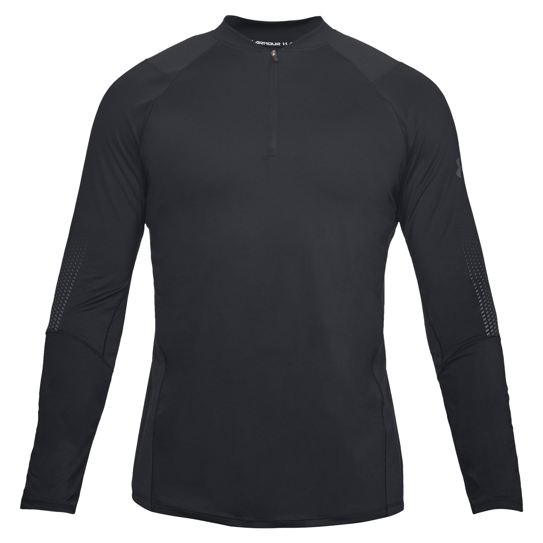 Under Armour Long Arm Shirt Raid 2.0 1/4 Zip Graphic black