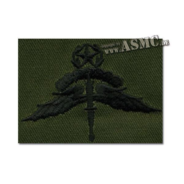 US Master Halo Parachutist olive