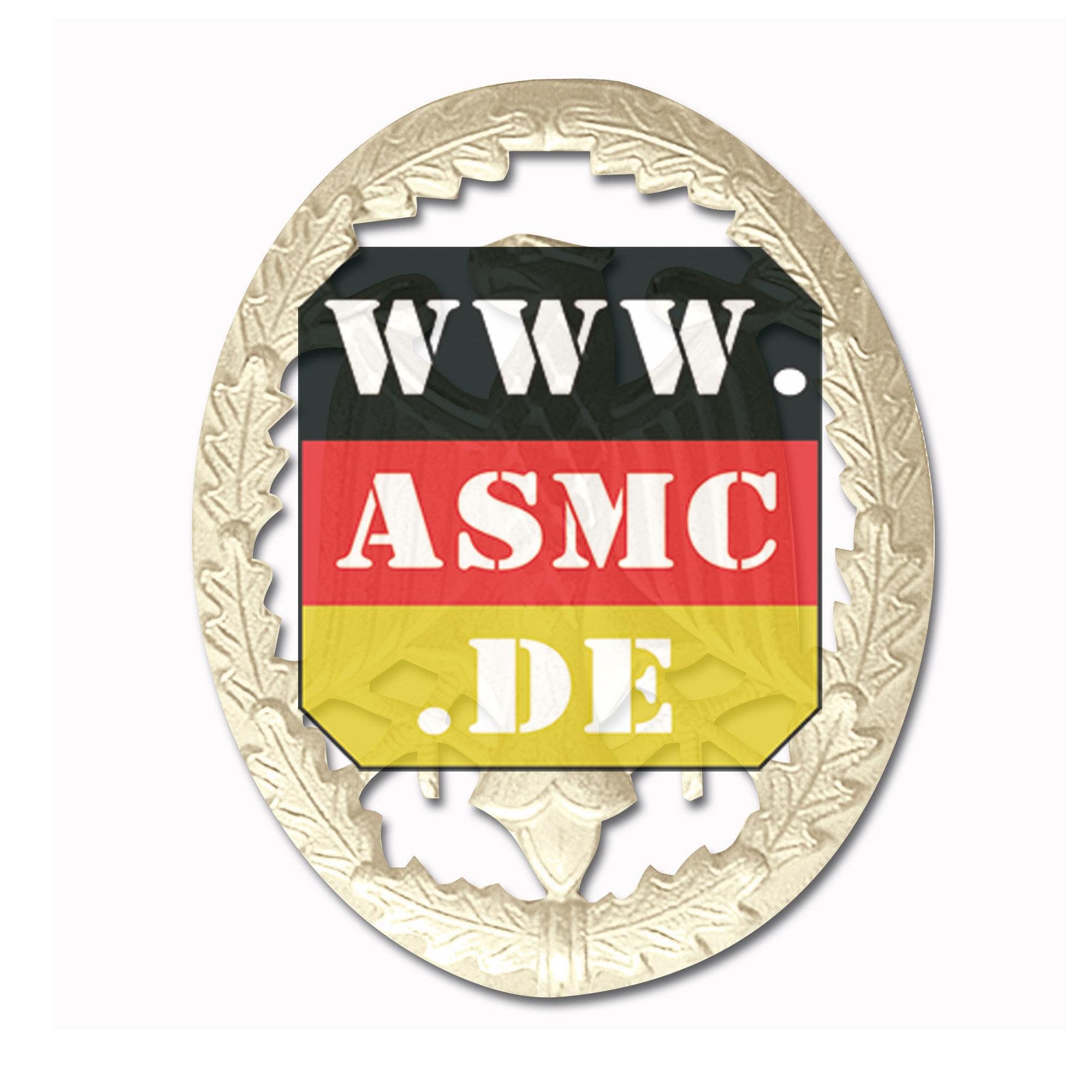 Achievement badge silver
