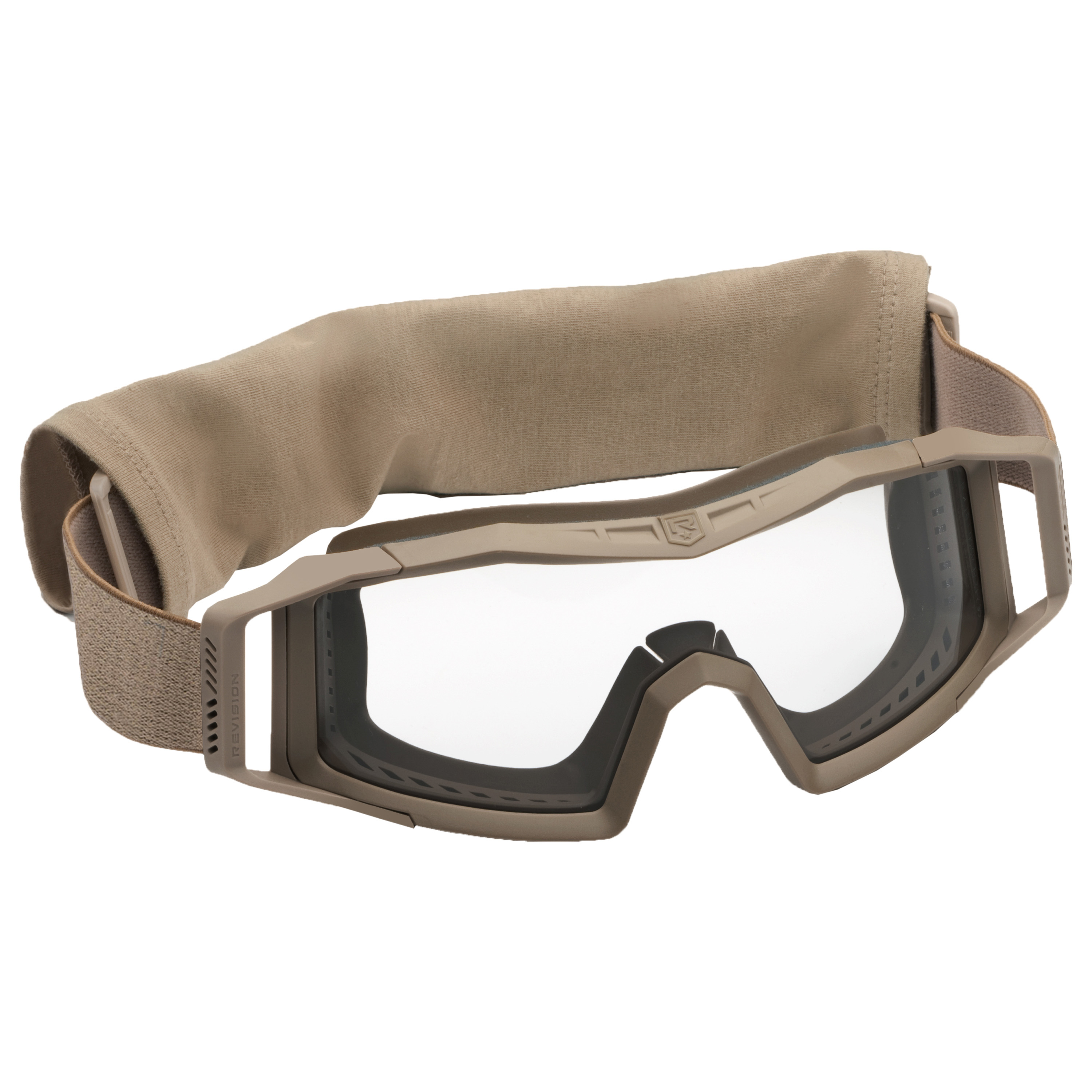 Revision Goggles Wolfspider Basic tan/clear lens
