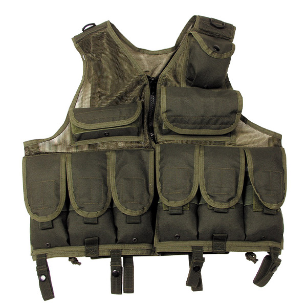 Tactical Vest Fox olive