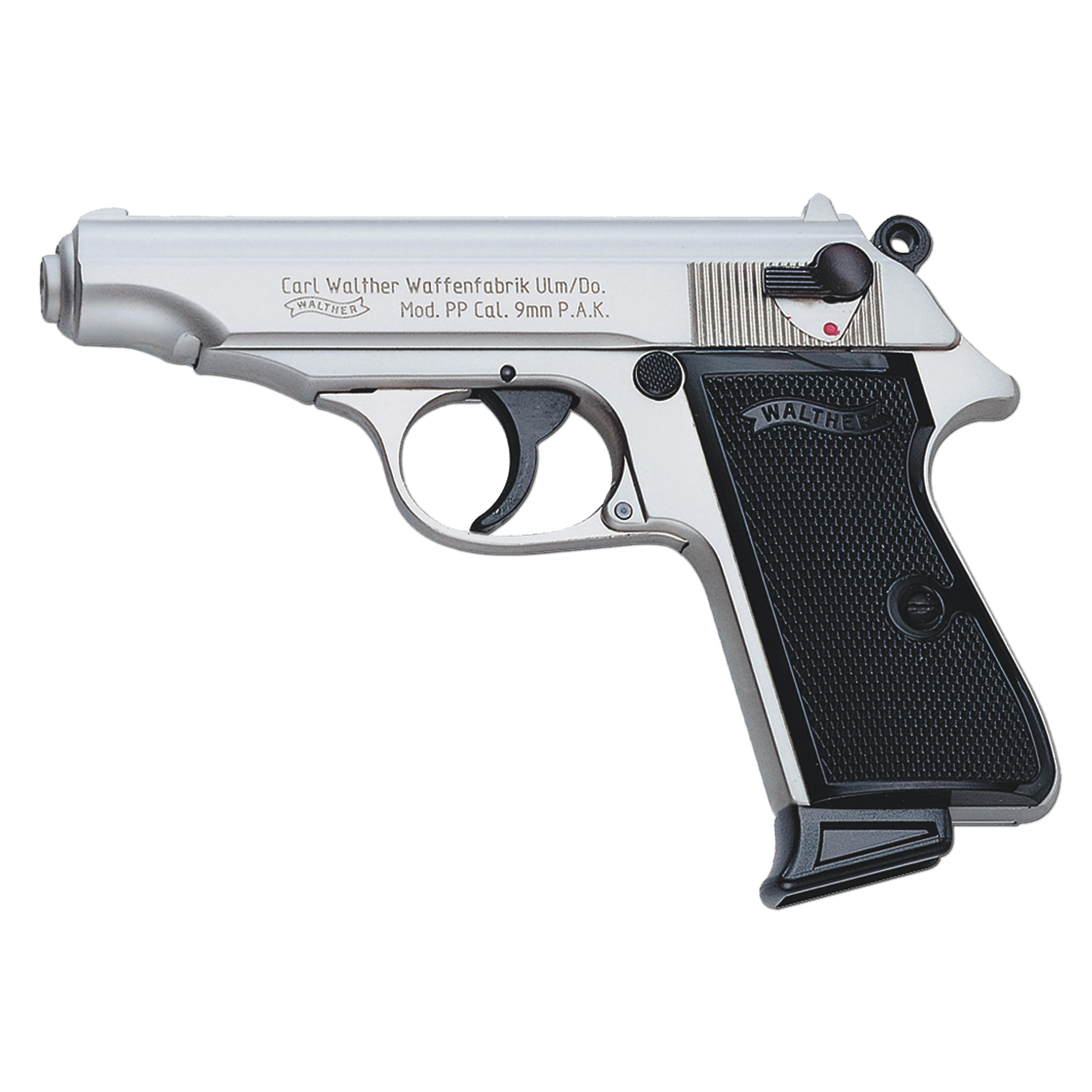 Pistol Walther PP Nickel Plated