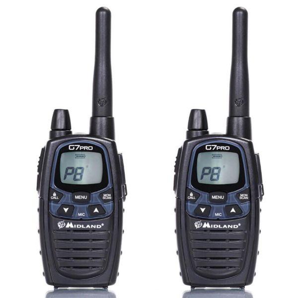 Two-Way Radio Midland G7E Pro Pair PMR