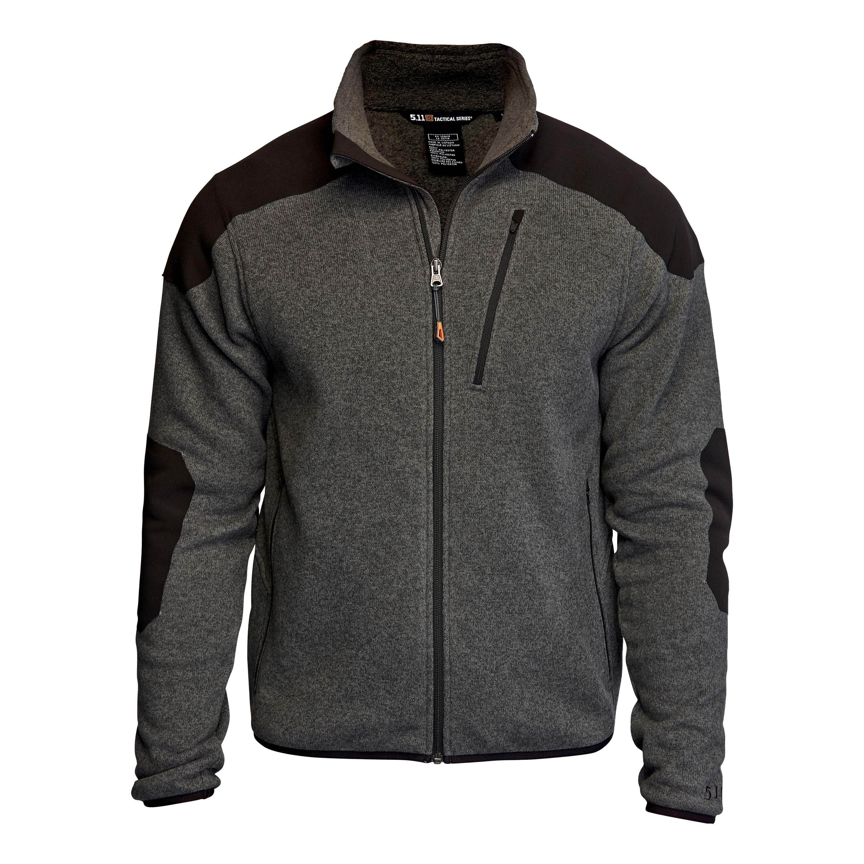 5.11 Sweat Jacket Tactical Full Zip gray