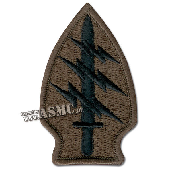 Insignia U.S. Special Forces subdued Textile