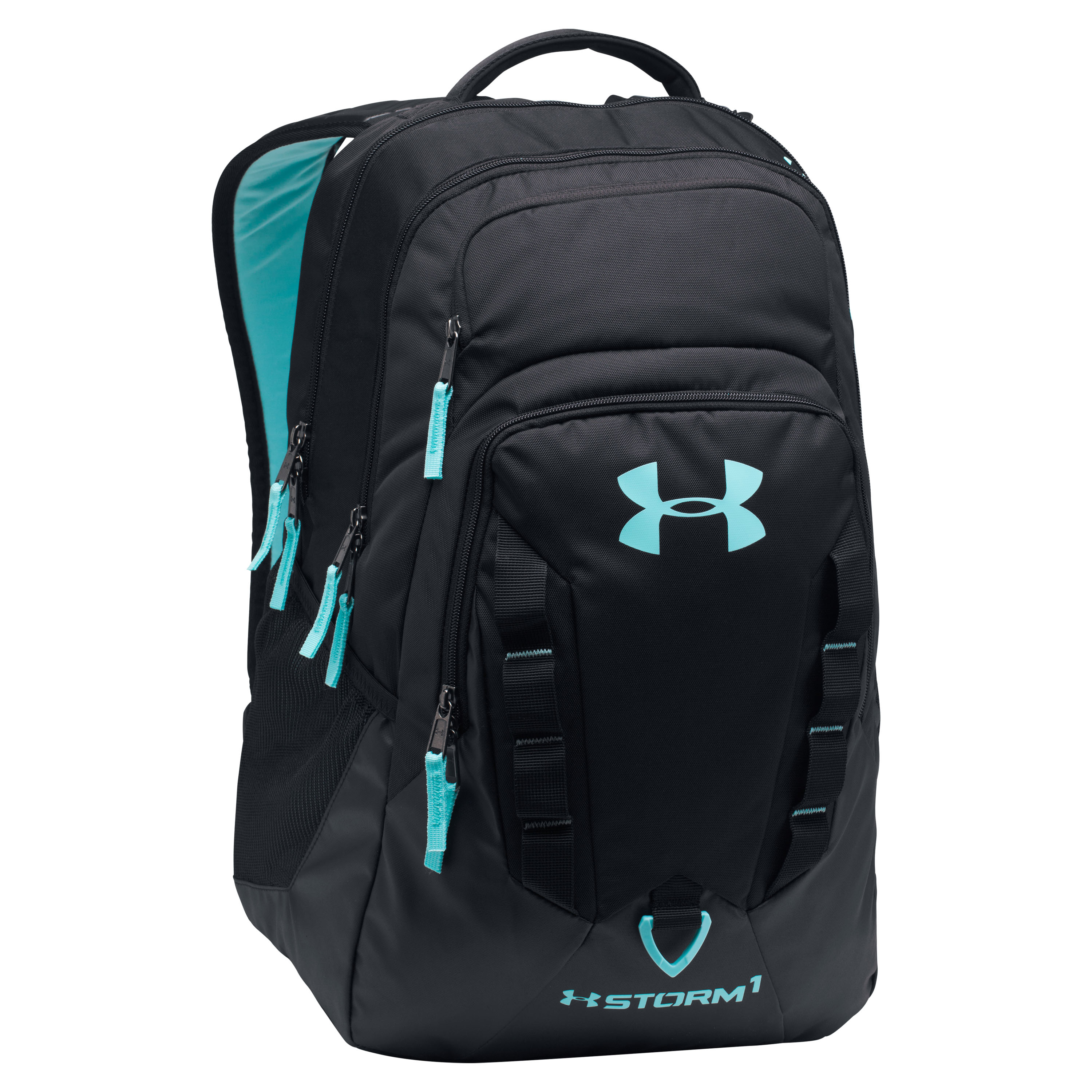 Under Armour Backpack Recruit black/turquoise