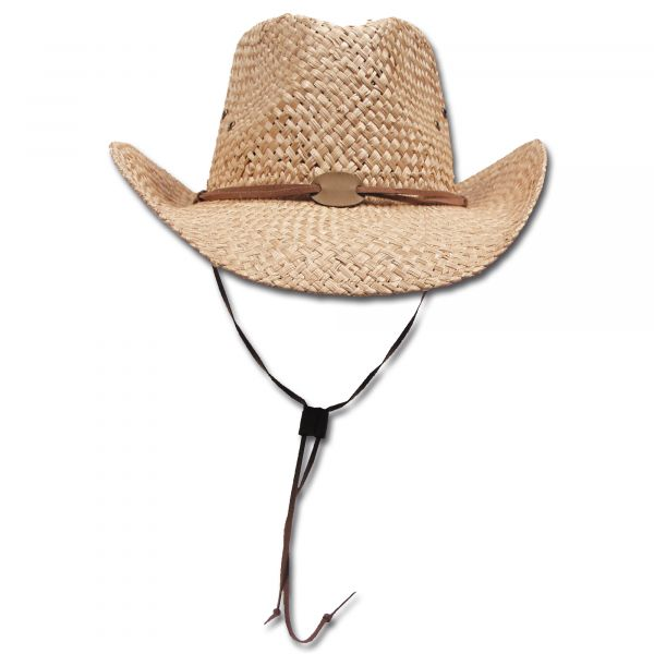 Straw Hat with Chin Band