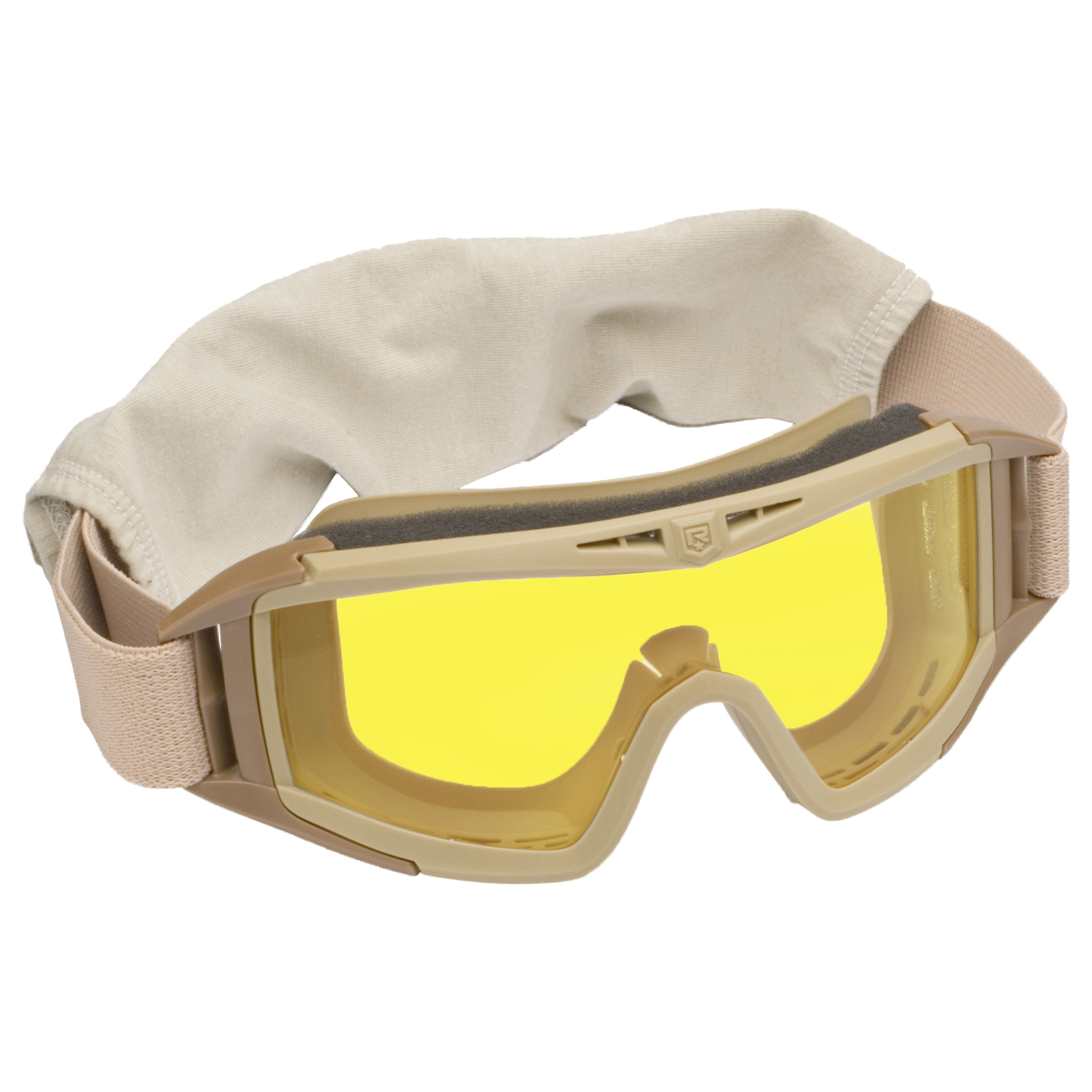 Revision Desert Locust Basic Goggles tan/yellow lens