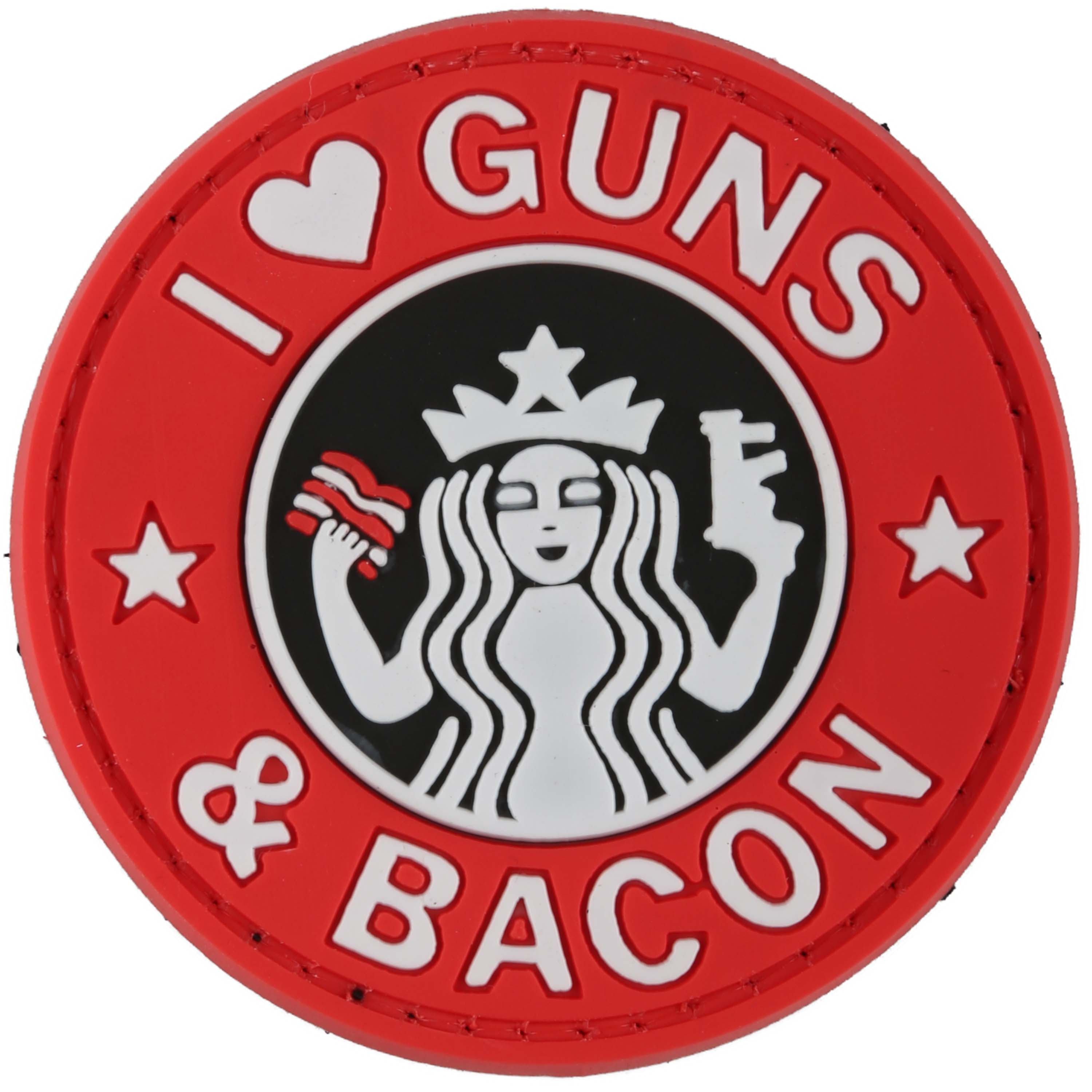 TAP 3D Patch Guns and Bacon full color