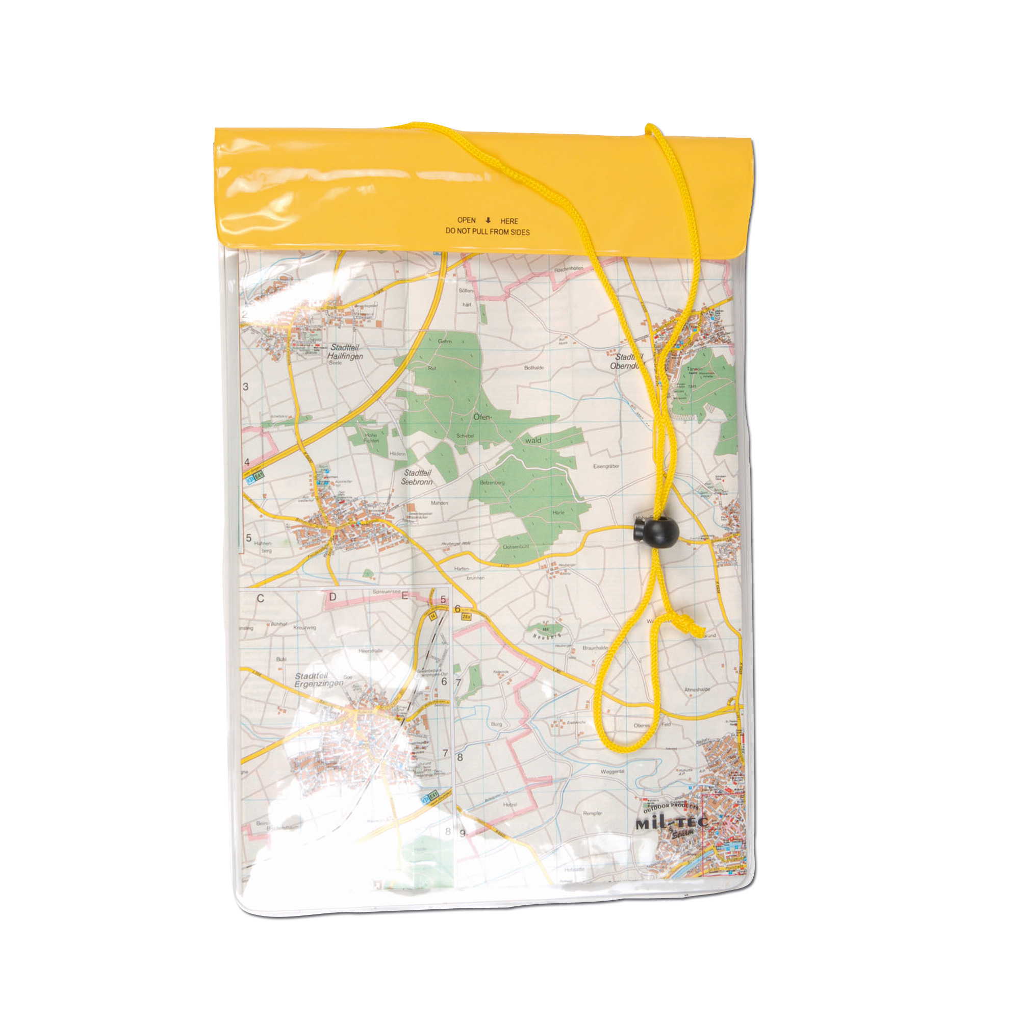 Neck Pouch large yellow