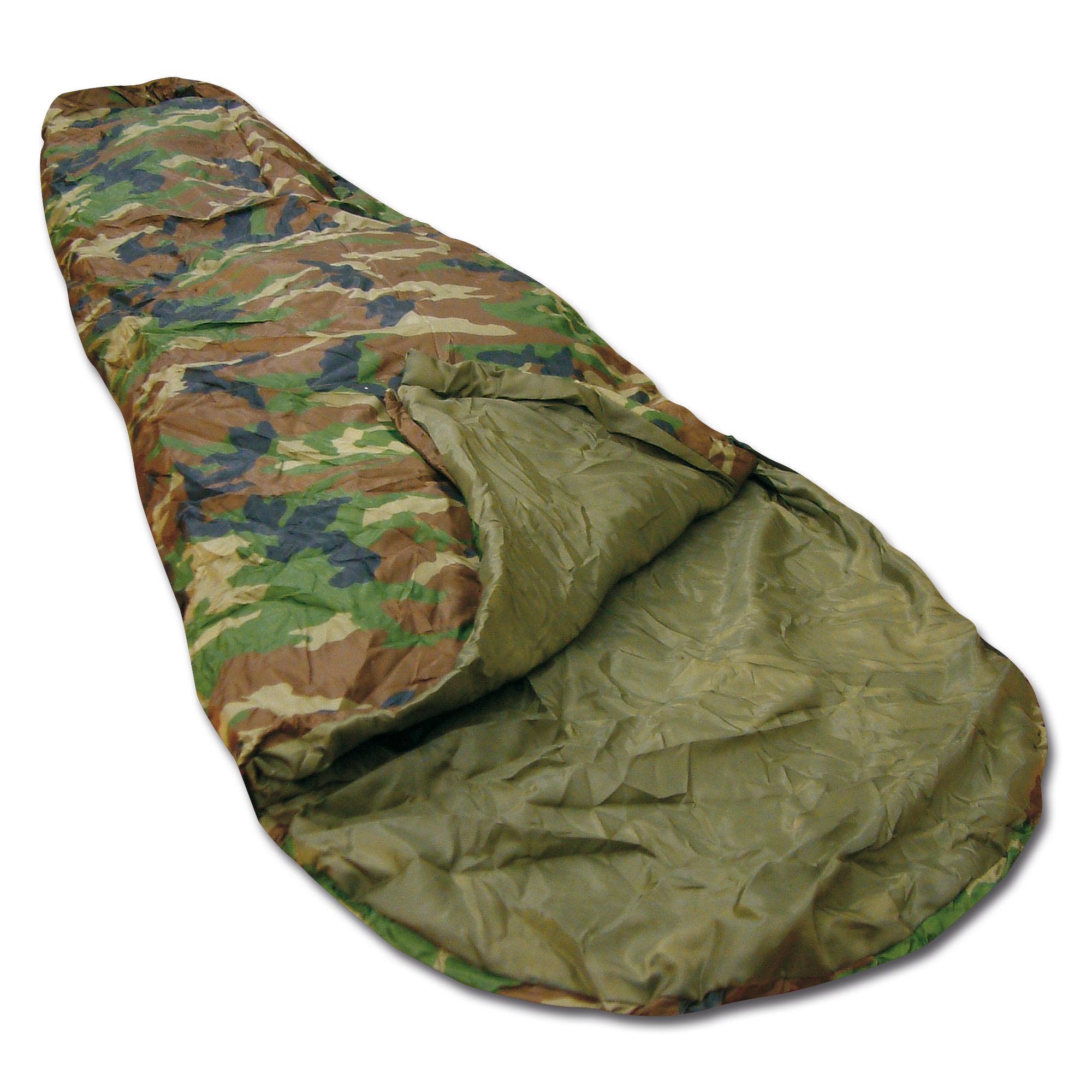 Sleeping Bag Commando woodland