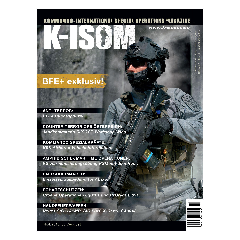 Kommando Magazine K-ISOM Ausgabe 04-2018