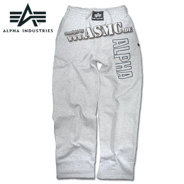 Sweatpants Alpha Track gray