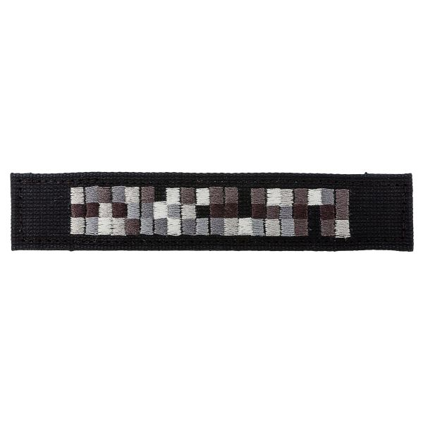 Name Tapes Special Forces black/gray