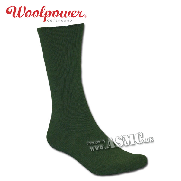 Woolpower Socks Wildlife olive green