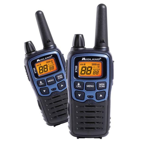 Two-Way Radio Midland XT60 Pair PMR+LPD