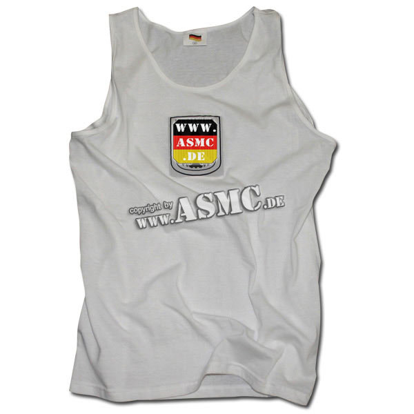German Army tank-top white