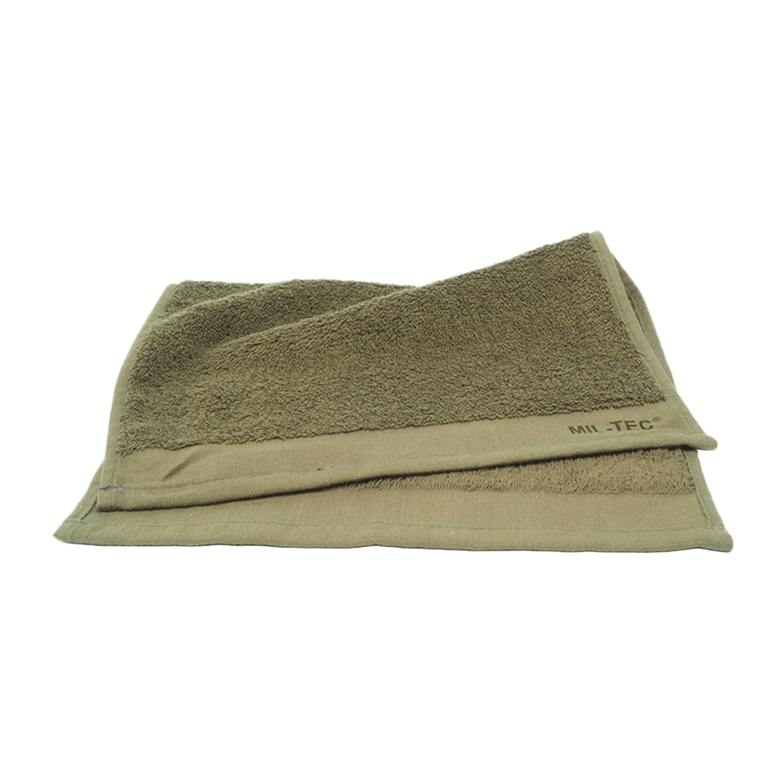 Washcloth 30 x 30 cm olive