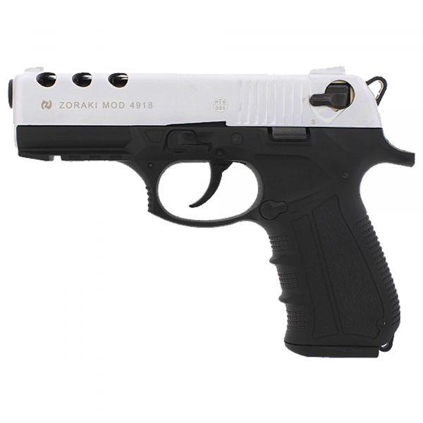 Zoraki Blank Pistol 4918 dull chrome