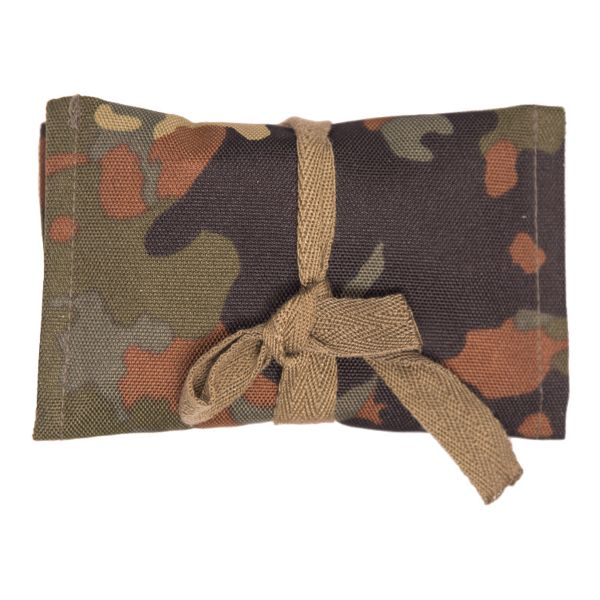 BW Sewing Kit Army /Air Force with Pouch flecktarn