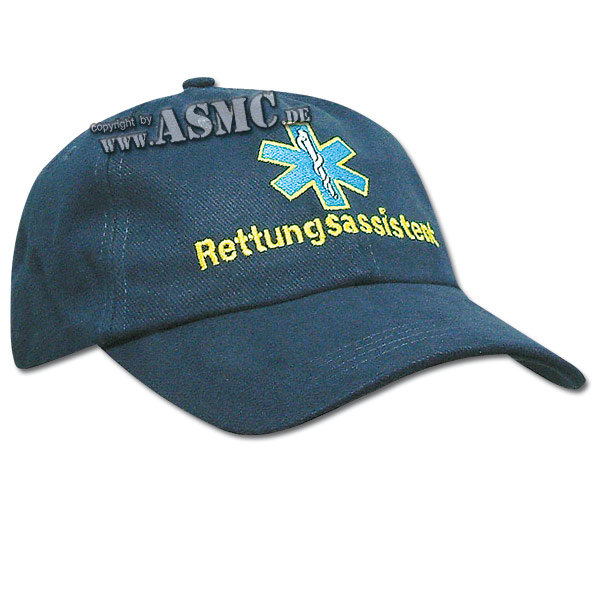Baseball Cap Rettungsassistent