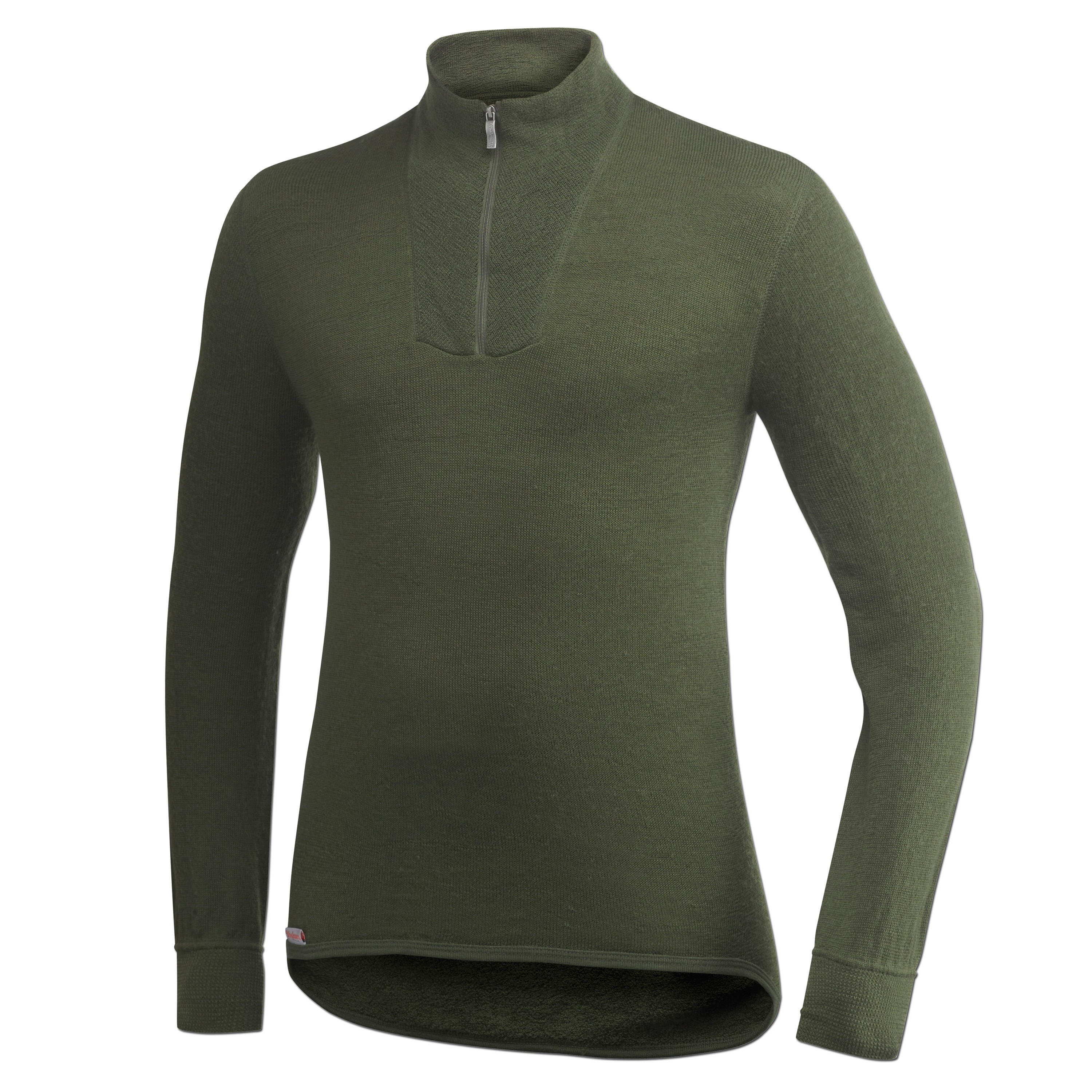 Woolpower Polo Shirt 200 g. olive