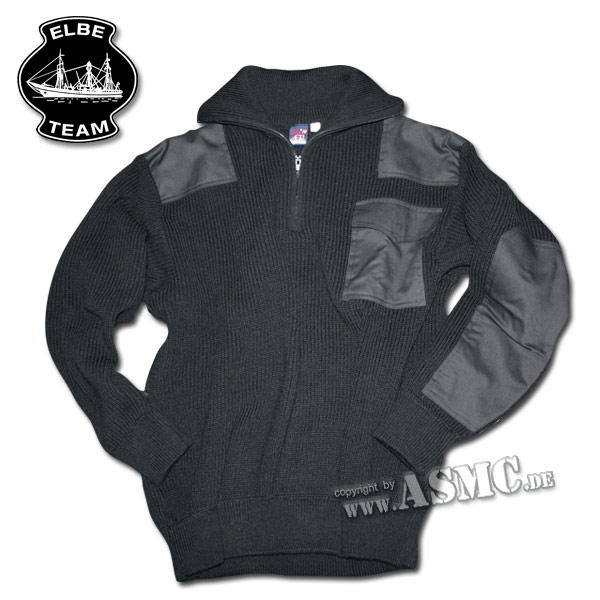 Sweater Troyer Commando black