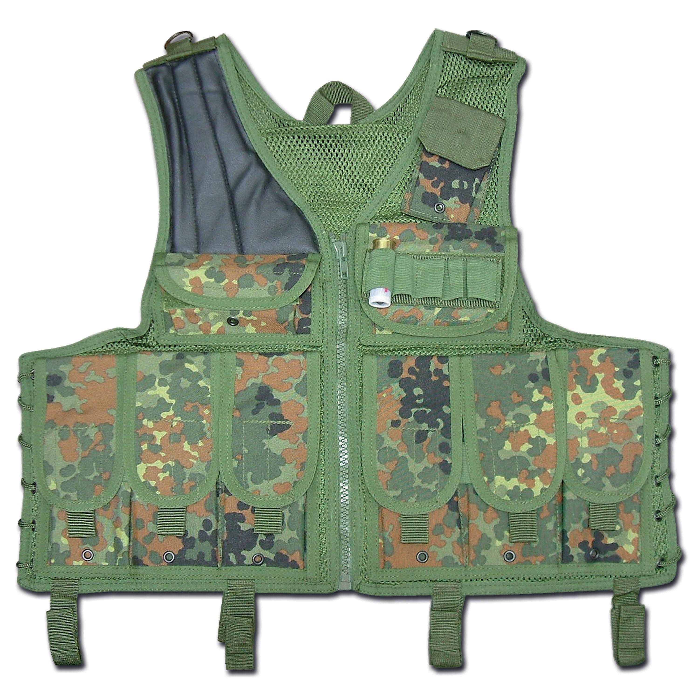 Tactical Vest Import flecktarn