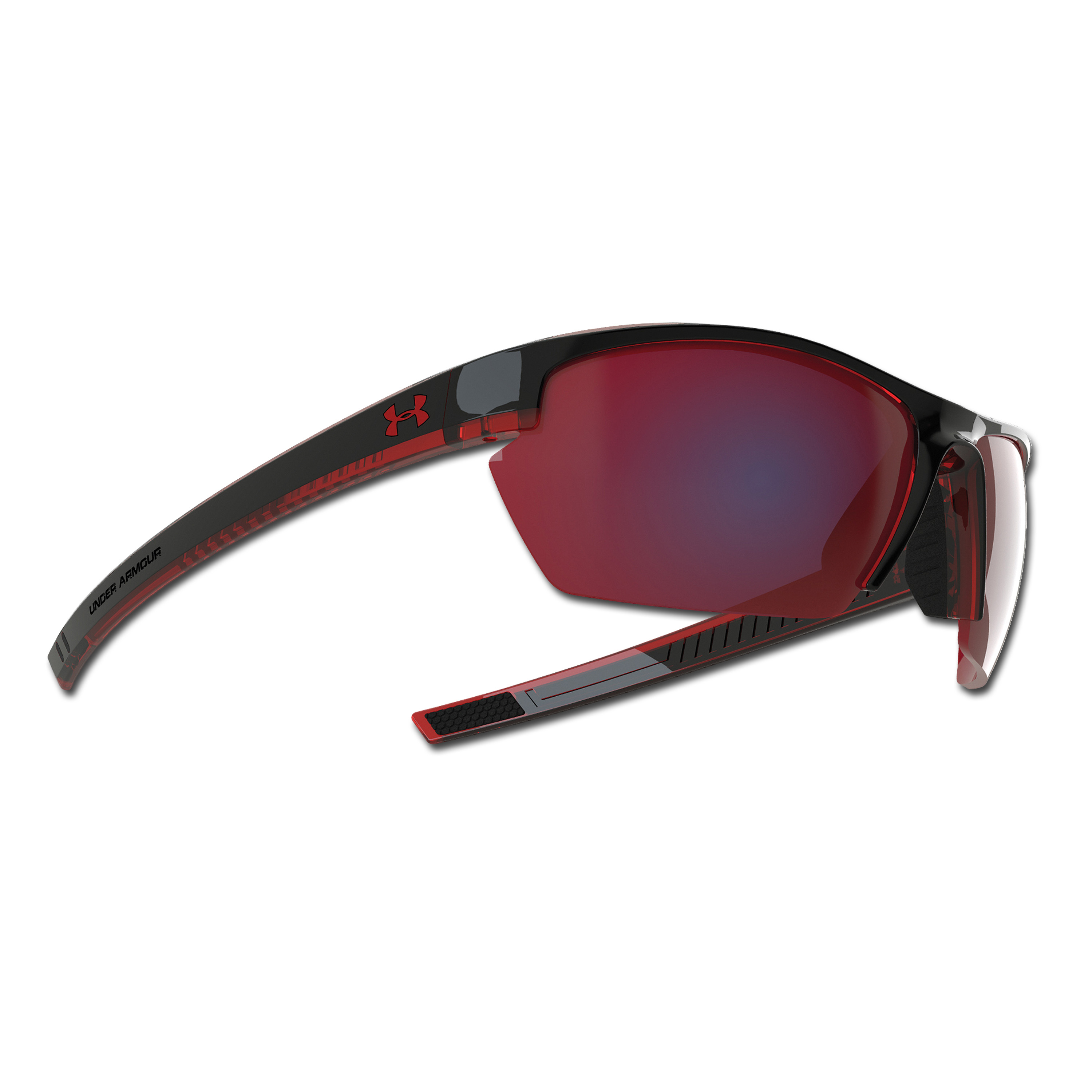 Sunglasses Under Armour Stride XL red