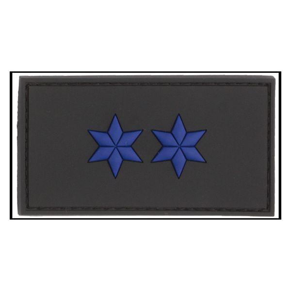 3D-Patch Rank Insignia Polizeimeister black