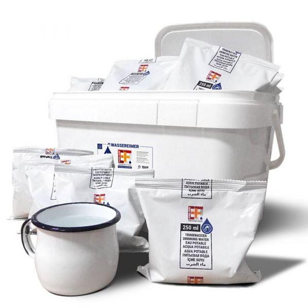 EF Emergency Food Water Bucket 6L