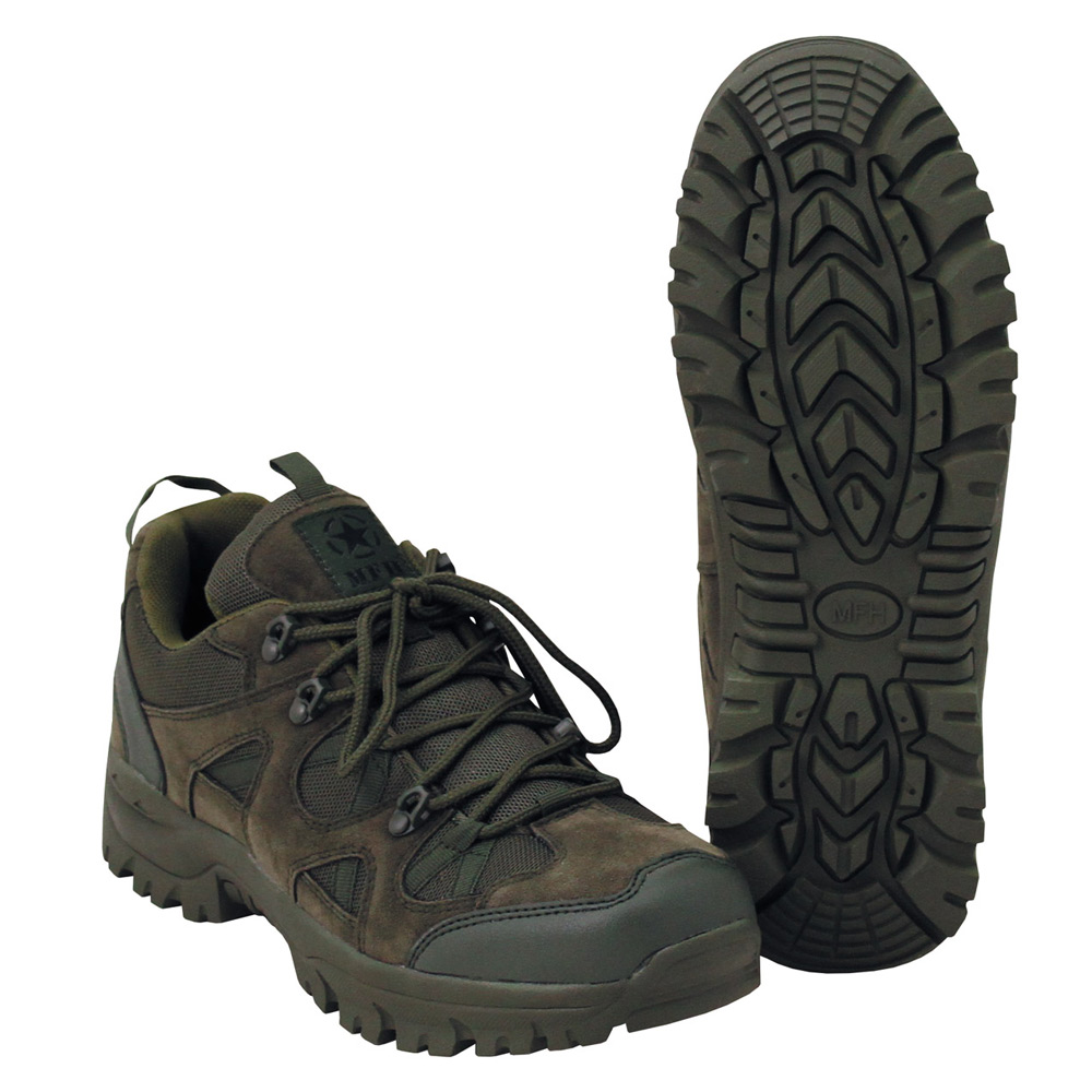 MFH Tactical Shoe Low olive