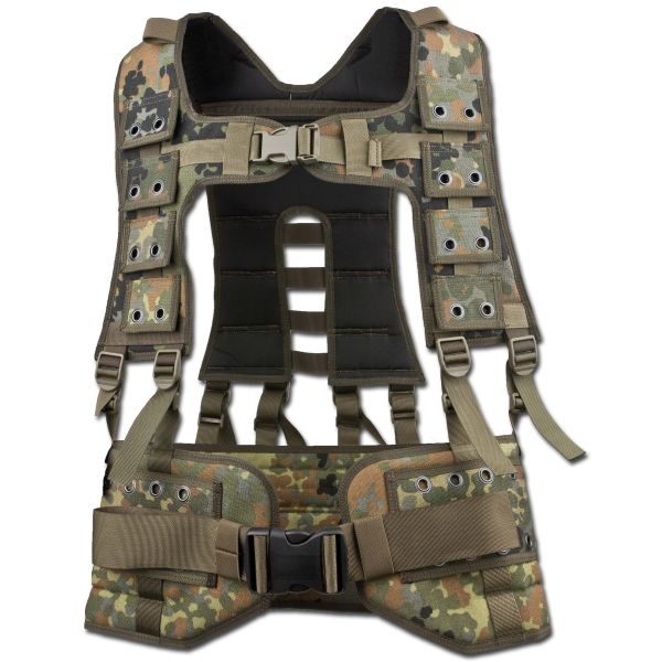 BW Tactical Assault Vest flecktarn