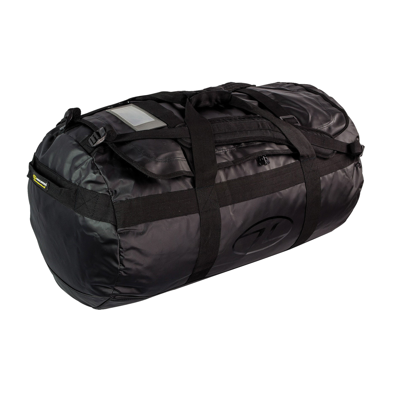 Highlander Spash Resistant Duffle Bag 90L black