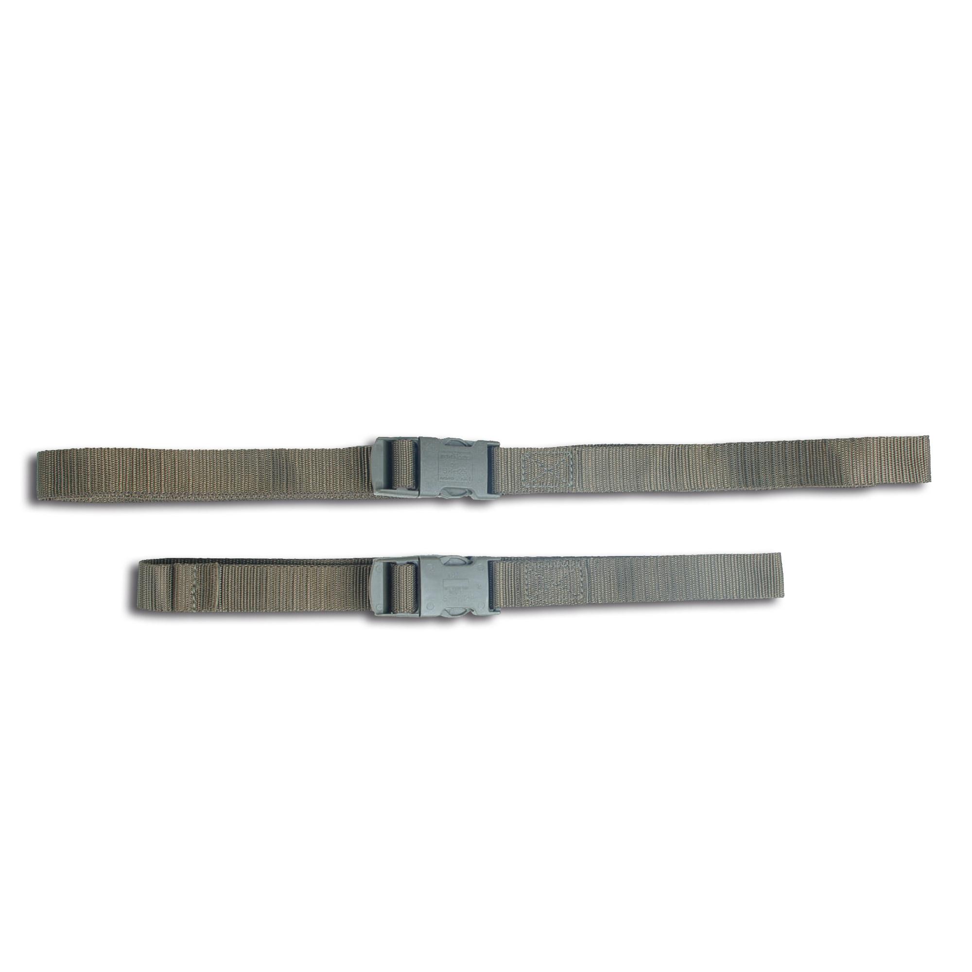 Nylon Strap with Clip Closure, 80 cm - olive