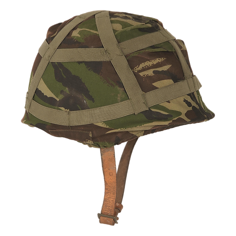 British Helmet Cover Used DPM