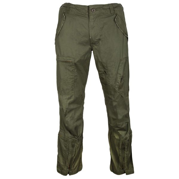 Aviator Pants Washed olive