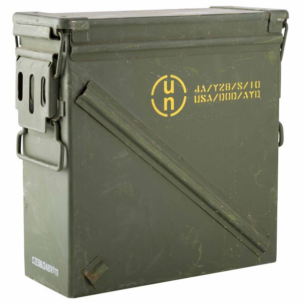 Used U.S. Ammunition Box Size 4